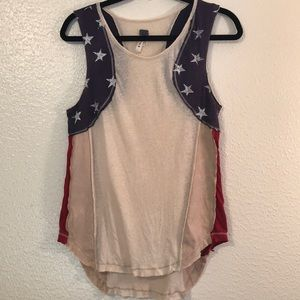 Free People wee the free sleeveless stars top